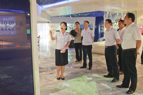 省委办公厅领导到雨花区局考察机关党建及文化建设工作